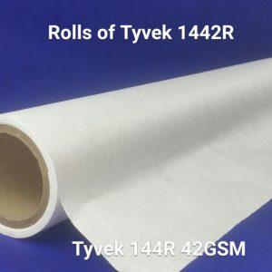 DuPont™ Tyvek® 42GSM (1442R) - Sheets & Rolls