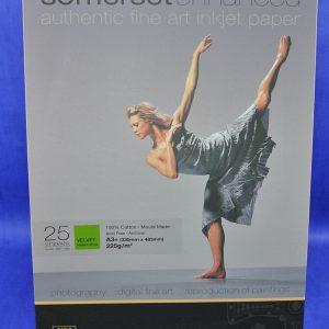 Somerset® enhanced fine art inkjet paper