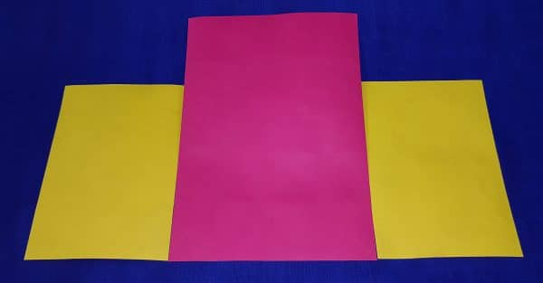 Tyvek Latex printed both sides 1082D 105gsm pink and yellow