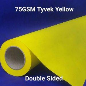 Yellow Printed Tyvek®